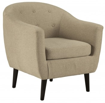 Ashley Klorey Khaki Accent Chair Available Online in Dallas Fort Worth Texas
