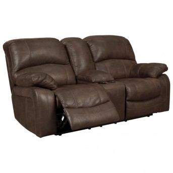 Zavier Glider Recliner Loveseat with Console Available Online in Dallas Fort Worth Texas