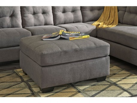 Ashley Maier Charcoal Ottoman Available Online in Dallas Fort Worth Texas