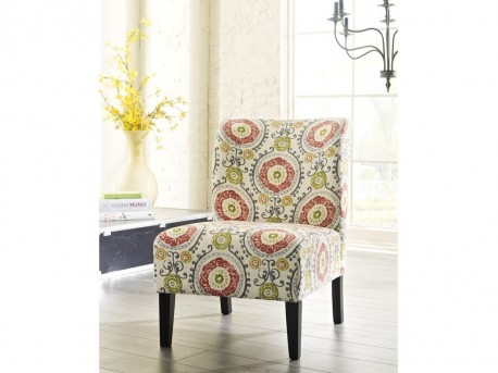 Ashley Honnally Floral Accent Chair Available Online in Dallas Fort Worth Texas