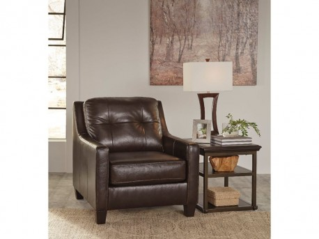 Ashley O'Kean Mahogany Chair Available Online in Dallas Fort Worth Texas