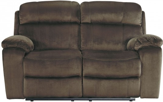 Ashley Uhland Chocolate Power Reclining Loveseat Available Online in Dallas Fort Worth Texas
