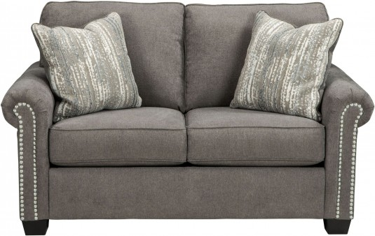 Ashley Gilman Charcoal Loveseat Available Online in Dallas Fort Worth Texas