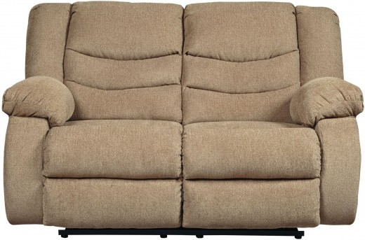 Ashley Tulen Mocha Reclining Loveseat Available Online in Dallas Fort Worth Texas