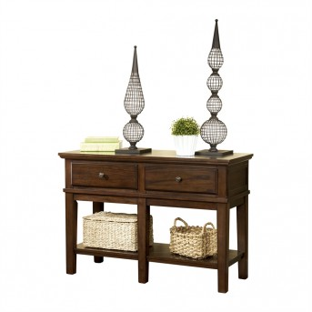 Ashley Gately Medium Brown Console Sofa Table Available Online in Dallas Fort Worth Texas
