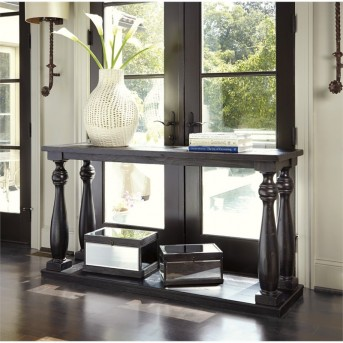 Ashley Mallacar Black Sofa Table Available Online in Dallas Fort Worth Texas