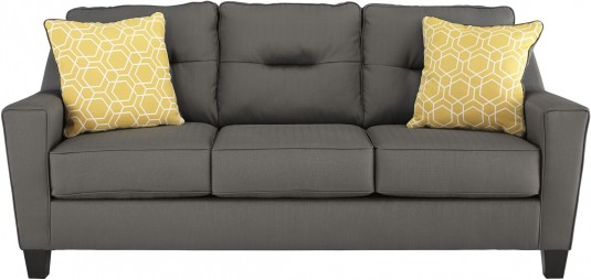 Ashley Forsan Nuvella Gray Sofa Available Online in Dallas Fort Worth Texas