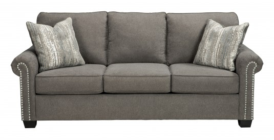 Ashley Gilman Charcoal Sofa Available Online in Dallas Fort Worth Texas