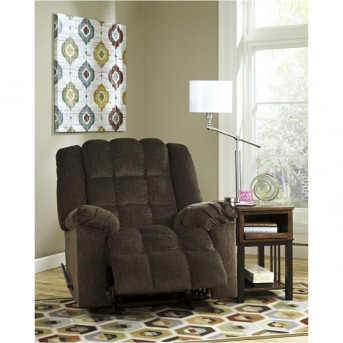 Ashley Ludden Cocoa Power Rocker Recliner Available Online in Dallas Fort Worth Texas