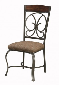 Ashley Glambrey Brown Side Chair Available Online in Dallas Fort Worth Texas