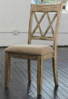 Ashley Mestler Antique White Side Chair Available Online in Dallas Fort Worth Texas