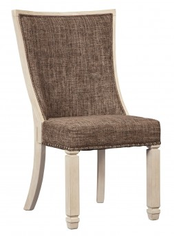 Ashley Bolanburg Upholstered Side Chair Available Online in Dallas Fort Worth Texas