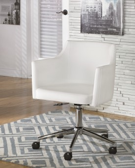 Ashley Baraga Swivel Arm Office Chair Available Online in Dallas Fort Worth Texas