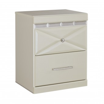 Ashley Dreamur Champagne Night Stand Available Online in Dallas Fort Worth Texas