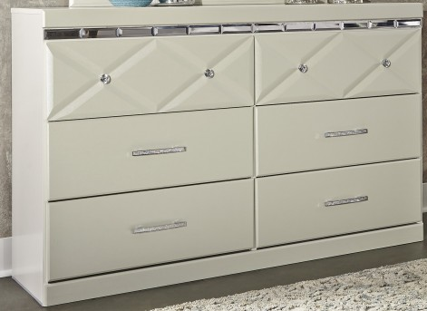 Ashley Dreamur Champagne Dresser Available Online in Dallas Fort Worth Texas