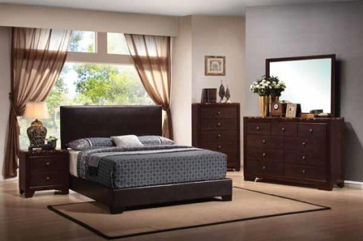 Coaster Conner Brown Full Bed Available Online in Dallas Fort Worth Texas