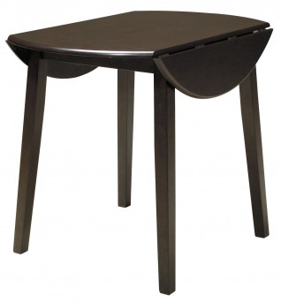 Ashley Hammis Dark Brown Round Dining Table Available Online in Dallas Fort Worth Texas