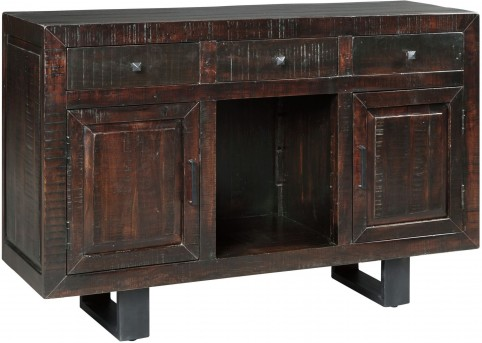 Parlone Dark Brown Dining Room Server Available Online in Dallas Fort Worth Texas