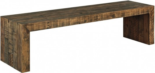 Ashley Sommerford Brown Large Dining Bench Available Online in Dallas Fort Worth Texas