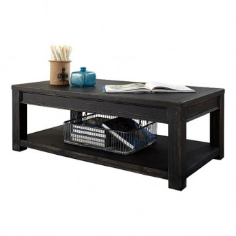 Ashley Gavelston Black Coffee Table Available Online in Dallas Fort Worth Texas