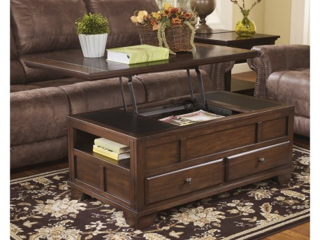 Ashley Gately Lift Top Cocktail Table Available Online in Dallas Fort Worth Texas