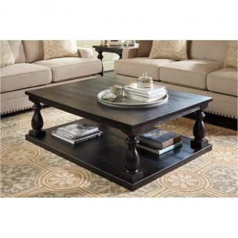 Ashley Mallacar Black Coffee Table Available Online in Dallas Fort Worth Texas