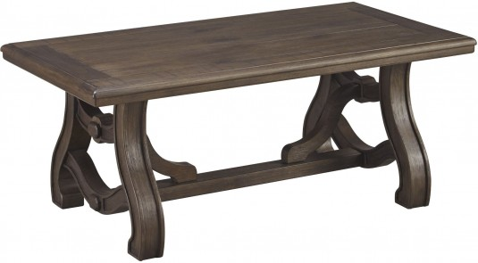 Ashley Tanobay Gray Rectangular Cocktail Table Available Online in Dallas Fort Worth Texas