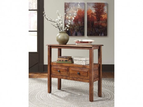 Ashley Abbonto Warm Brown Accent Table Available Online in Dallas Fort Worth Texas