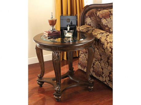 Ashley Norcastle Dark Brown End Table Available Online in Dallas Fort Worth Texas
