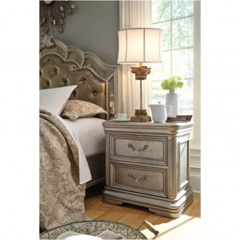 Ashley Birlanny Night Stand Dallas Tx Bedroom Night