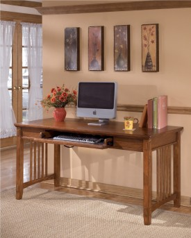 Ashley Cross Island Brown Large Leg Desk Available Online in Dallas Fort Worth Texas