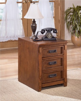 Ashley Cross Island Brown File Cabinet Available Online in Dallas Fort Worth Texas
