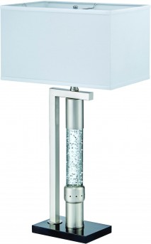 Homelegance Jalen Silver Table Lamp Available Online in Dallas Fort Worth Texas