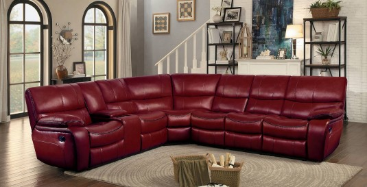 Homelegance Pecos Red Corner Seat Available Online in Dallas Fort Worth Texas