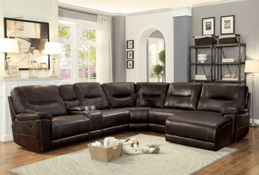 Homelegance Columbus Dark Brown Armless Chair Available Online in Dallas Fort Worth Texas