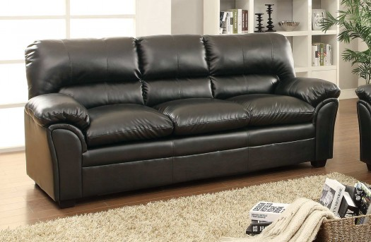 Homelegance Talon Black Sofa Available Online in Dallas Fort Worth Texas