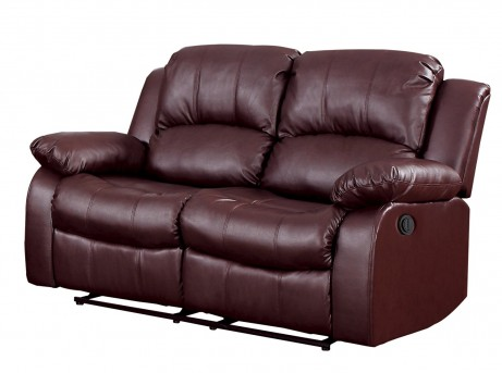 Homelegance Cranley Brown Power Double Reclining Loveseat Available Online in Dallas Fort Worth Texas