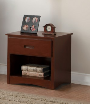 Homelegance Rowe Dark Cherry Night Stand Available Online in Dallas Fort Worth Texas