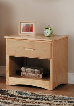 Homelegance Bartly Natural Pine Night Stand Available Online in Dallas Fort Worth Texas