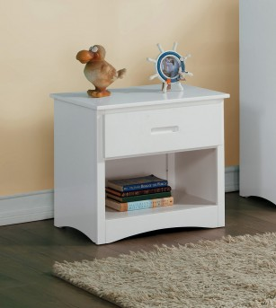 Homelegance Galen White Night Stand Available Online in Dallas Fort Worth Texas