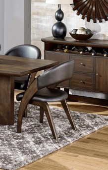 Homelegance Onofre Dark Brown Arm Chair Available Online in Dallas Fort Worth Texas