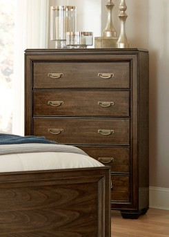 Homelegance Leavitt Brown Cherry Chest Available Online in Dallas Fort Worth Texas