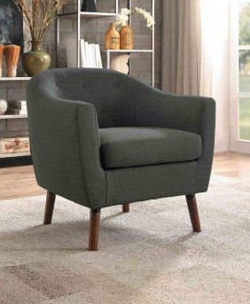Homelegance Lucille Grey Accent Chair Available Online in Dallas Fort Worth Texas