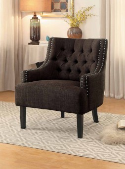 Homelegance Charisma Chocolate Accent Chair Available Online in Dallas Fort Worth Texas