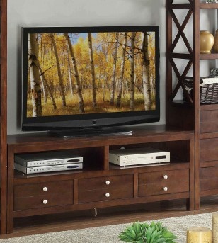 Homelegance Polson EspressoTV Stand Available Online in Dallas Fort Worth Texas