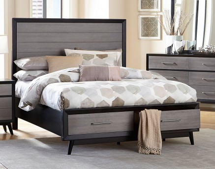 Homelegance Raku King Platform Bed Available Online in Dallas Fort Worth Texas