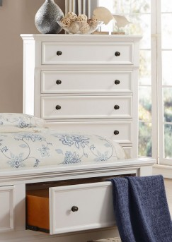 Homelegance Laurelin White Chest Available Online in Dallas Fort Worth Texas
