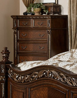 Homelegance Catalonia Cherry Chest Available Online in Dallas Fort Worth Texas