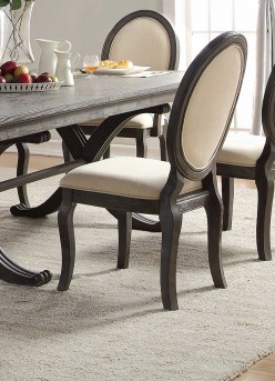 Homelegance Lindley Dusty Gray Side Chair Available Online in Dallas Fort Worth Texas