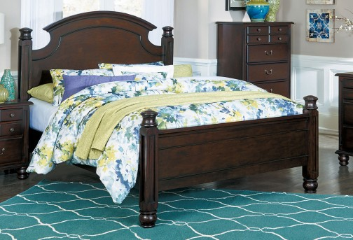 Homelegance Frederica Cherry Queen Bed Available Online in Dallas Fort Worth Texas